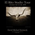 2009 El Rito Studio Tour Poster - Longhorn