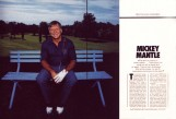 Penthouse Magazine Spread Mickey Mantle